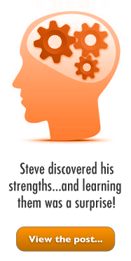 "Image leading to Steve's ""strengths"" post..."