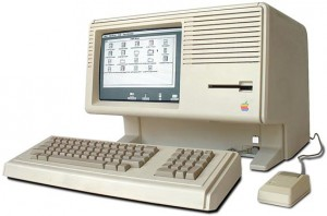 The Apple Lisa with its graphical user interface (GUI) introduced in 1983