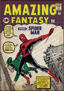 Amazing Fantasy #15 (August 1962) - The first Spider-Man story.